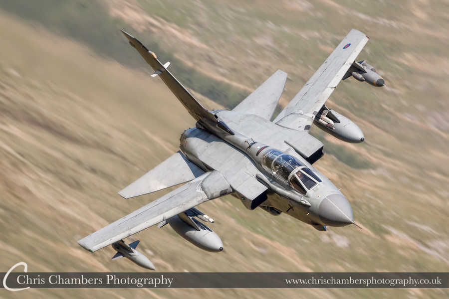 RAF Tornado GR4 Low Level in Wales