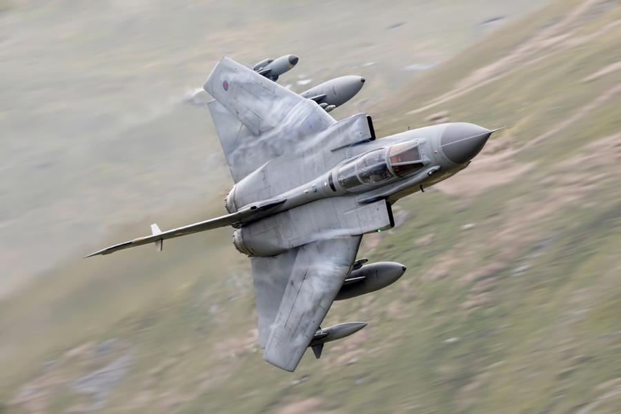 RAF Tornado GR4 Low Level Wales